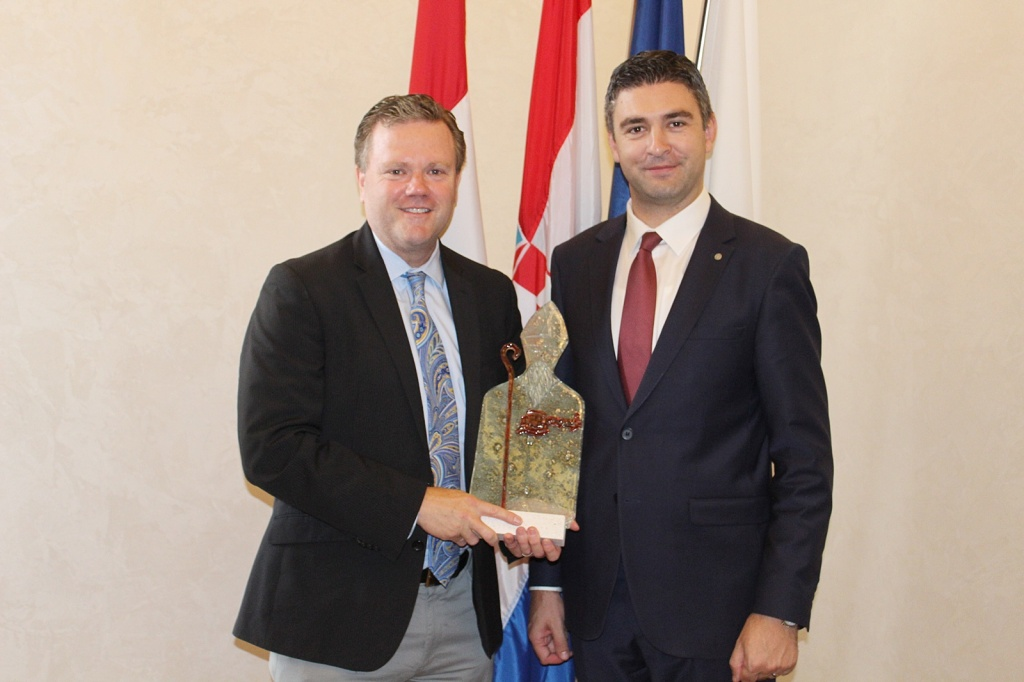Upravitelj grada prijatelja Montereya iz Kalifornije u službenom posjetu Gradu Dubrovniku